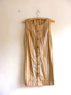 Vintage Harrods London 1960s Swing Dress by backyardbirdsong, $115.00