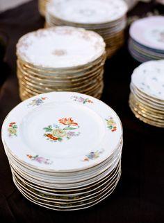dish, vintage cakes, vintag tabl, vintag plate, china plate