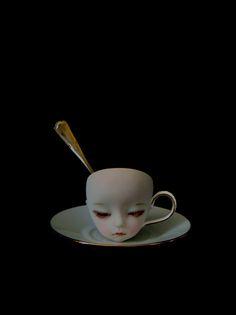 cup of tea bjd #alice