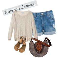 """""""weekend getaway"""" by stellastarstella on Polyvore"""