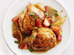 Roast Chicken and Apples
