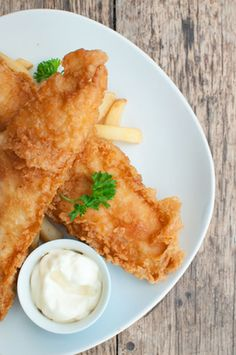 Authentic British Fish and Chips.  This recipe has been nailed!