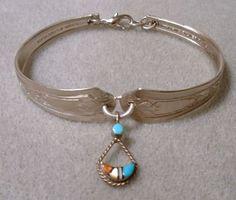 Spoon bracelet.  ♥