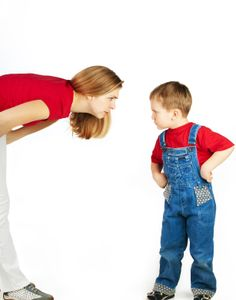"""Question:    """"How do you stop children from back talking"""