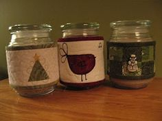jars sewingcandl cozi, idea, tutorials, jar, candles, sewing home decor, candl cosi, homes, blog