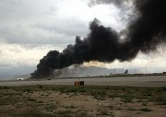 Boeing 747-400 N949CA Of National Airlines (National Air Cargo) Crashes After Takeoff At Bagram Air Field In Afghanistan