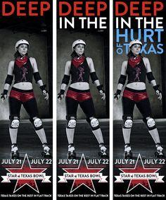 Texas Roller Girls - Creative Portfolio