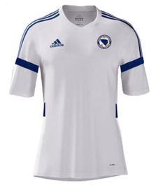 Bosnia-Herzegovina Home Kit for World Cup 2014 #worldcup #brazil2014 #bosnia #soccer #football #BIH