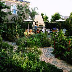 A kitchen garden designed for entertaining