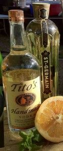 Texas Sipper - Vodka/Elderflower/Grapefruit  YUMMY