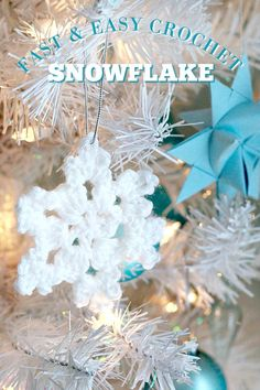 Crochet Snowflake | Grateful Prayer | Thankful Heart