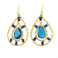 Spa Solage's Favorite Things - Mabel Chong Jewelry - Empress in Blue spa solag, blue crush
