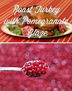 Try this Pomegranate Glaze on your turkey this year! SO good! | #food #recipe #thanksgiving #turkey