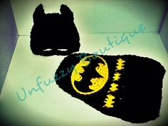Busting Stitches: Bat Hero Hat Photo Prop - free pattern