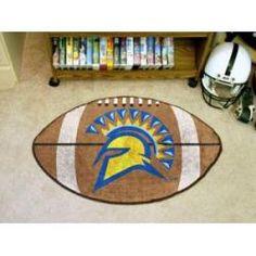 "San Jose State Spartans Football Rug 22""x35"""