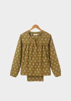 Ikat Print Pyjamas, Toast UK