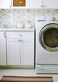 BLUE-AND-WHITE LAUNDRY