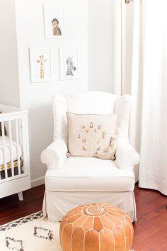 cozy nursery corner
