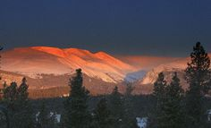 """This what """"the real Colorado"""" looks like. FairPlay Colorado"""