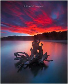 Lake Manapouri Blaze - New Zealand