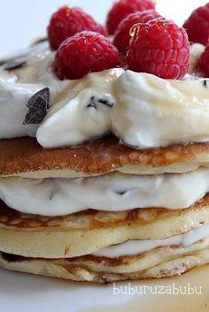 Pancake  With Mascarpone Creme