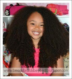 little girls, bead, braid, future babies, natur hair, baby girls, hair care, kid, little girl hair