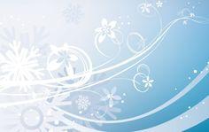 Flowerish Christmas Winter Background Vector @freebievectors