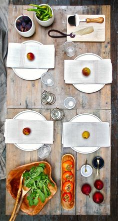 A table setting with rustic charm.