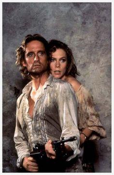 Michael Douglas & katheline Turner- em busca da esmeralda perdida