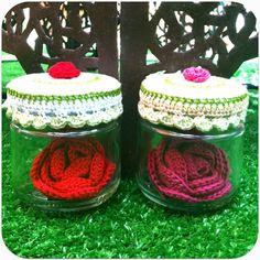Rose #crochet #ganchillo http://somethingsbypinturadecor.blogspot.com.es/2012/06/te-regalo-una-rosa.html