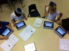 iPads in a 1st Grade classroom!