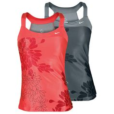 Nike Women`s Graphic Knit Tennis Tank. If you like prints on your clothes this is the Tennis Outfit for you!