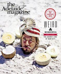 The Adelaide Magazine (Australia), Chris Bowden Art Director, 2014.