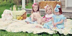 little girls, sweet, kid corner, future babies, daughter, ador, big bows, picnic