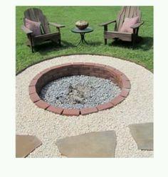 Fire pit = backyard necessity