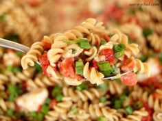6-Ingredient Mexican Chicken Pasta - The Weary Chef
