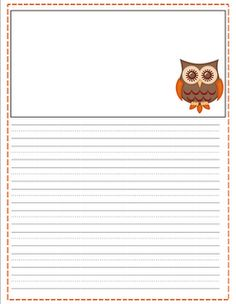 printable fall writing paper