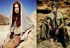 WGSN Neo-Geo - Drawing inspiration from man-made and recycled materials mixed with earth and the blending of stone age processes. Think high fashion nomads travelling through the desert.  Details: desert elegance, natural excavated materials, future explorer, earthy tones
