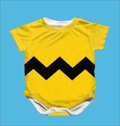 Charlie Brown Onesie. So cute!  Geek baby.