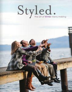 Styled magazine winter/2012 #celebration #craft #design #DIY #food #handmade #party #free