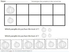 Sea Bear's Kindergarten: Free Pumpkin Bar Graph Activity