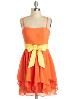 Chef's Table Dress in Citrus, #ModCloth