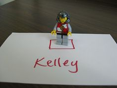 Whole Body Listening with Legos...may have to try this with a student!