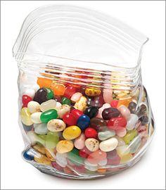 Glass Zipper Bag ($17.50)