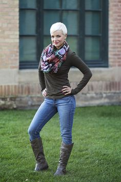 Perfect for your fall wardrobe! Soft Cotton Comfort - Long Sleeve V Neck Shirt S-3X pickyourplum.com