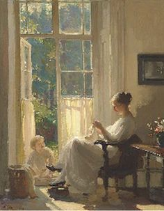 William Charles Penn (1877–1968) British Painter ~ Blog of an Art Admirer