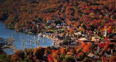 12 Small New England Towns To Run Away To This Fall