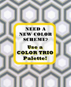 Sabrina Soto from HGTV explains how to use a Color Trio Palette for a room's color scheme. #decor #color