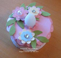 Tea Light Birthday Cake 10/21/11