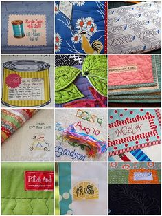 labeling quilts